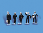 5117 Modelscene: OO PEOPLE  Navy Personnel